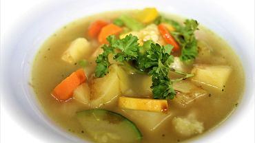zupa kurkowa, zdjęcie ilustracyjne