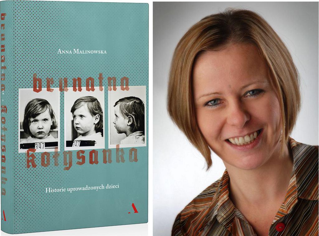 Książka ''Brunatna kołysanka. Historie uprowadzonych dzieci'' Anny Malinowskiej ukazała się nakładem wydawnictwa Agora (fot. materiały prasowe)