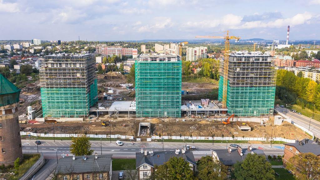 W Katowicach trwa budowa osiedla Pierwsza Dzielnica