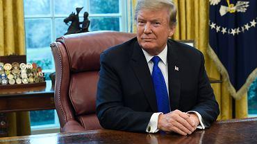 Prezydent USA Donald Trump