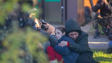 Uchodźcy zatrzymani przez Straż Graniczną, Michałowo (zdjęcie ilustracyjne)
