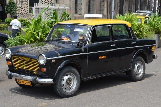 Taksówki w Indiach - Premier Padmini