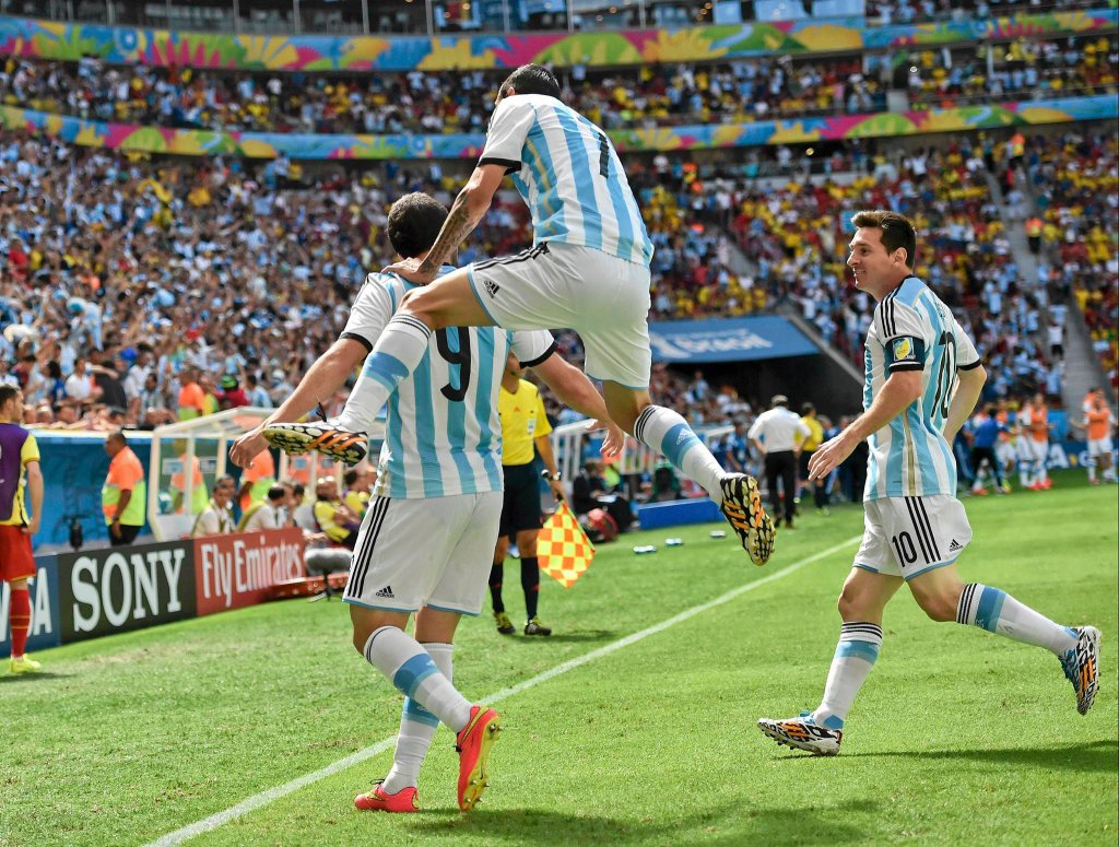 Gonzalo Higuain, Angel di Maria, i Leo Messi