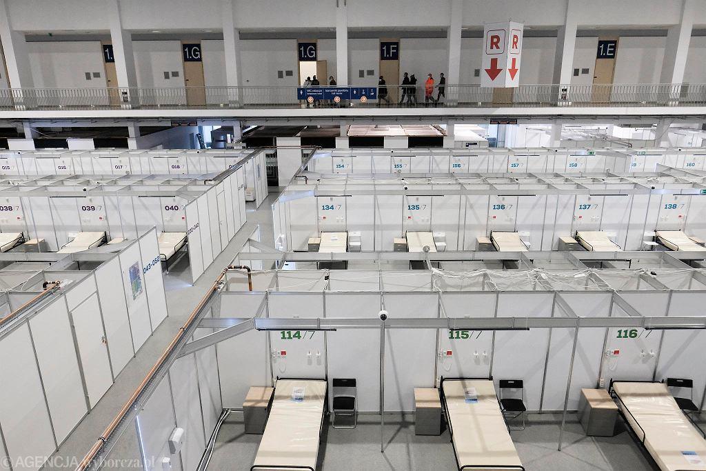 Na terenie Międzynarodowych Targów Poznańskich powstaje szpital tymczasowy
