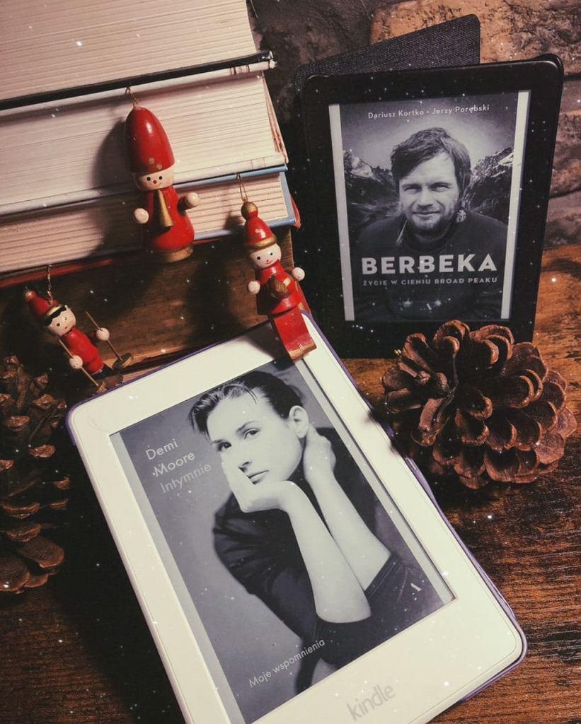 Książki 'Intymnie' i 'Berbeka. Życie w cieniu Broad Peaku' w formie e-booków