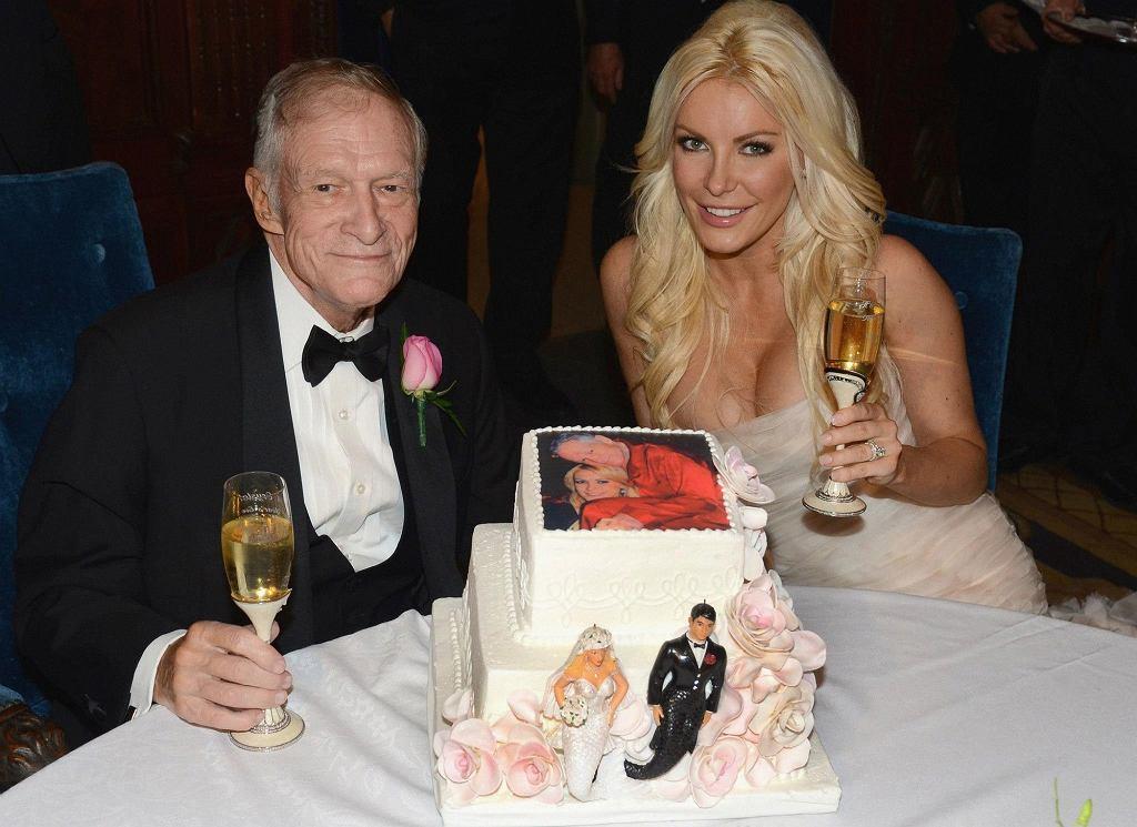 Ślub Hugh Hefnera i Crystal Harris
