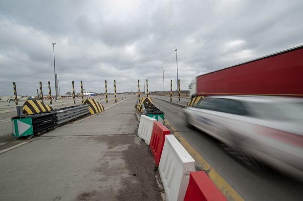 Przebudowa autostrady A2 - znikają bramki na PPO Pruszków