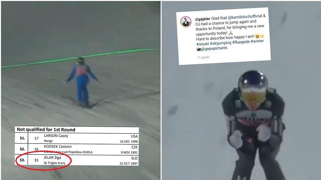 Ziga Jelar po konkursie w Oberstdorfie dziękował Polakom