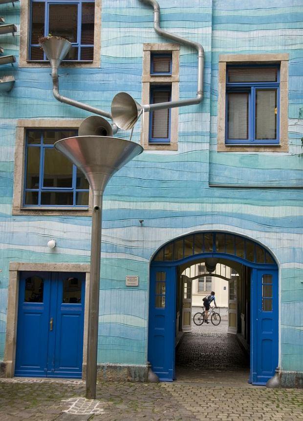 Drezno - kamienica w dzielnicy Neustadt / shutterstock