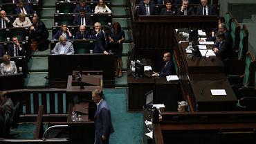 6.06.2018, Sławomir Nitras w Sejmie.