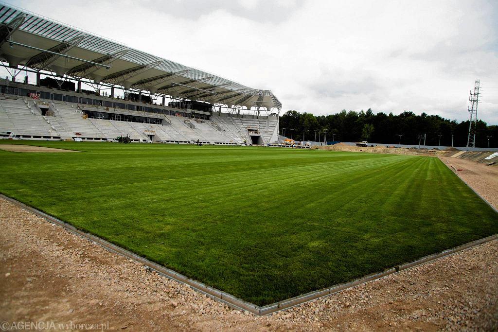 Budowa stadionu przy al. Unii