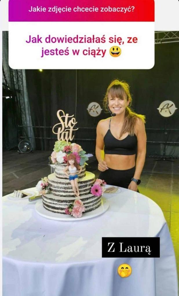 Anna Lewandowska pokazała zdjęcie z dnia, w którym dowiedziała się o ciąży z Klarą. Jesteśmy zaskoczni