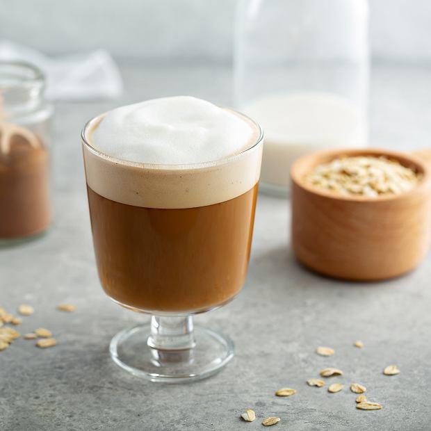 Kawa z mlekiem owsianym