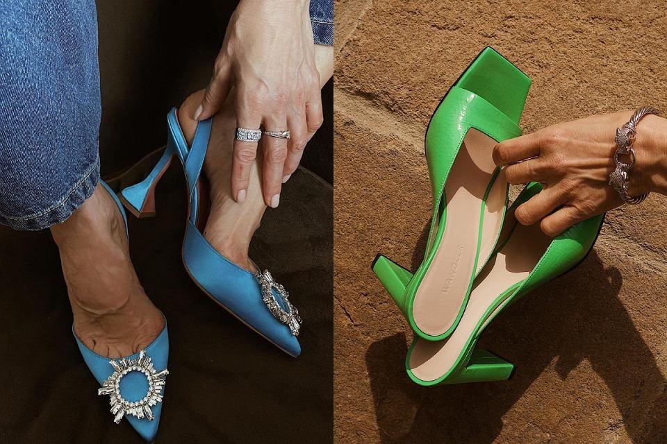 modne kolory butów 2021