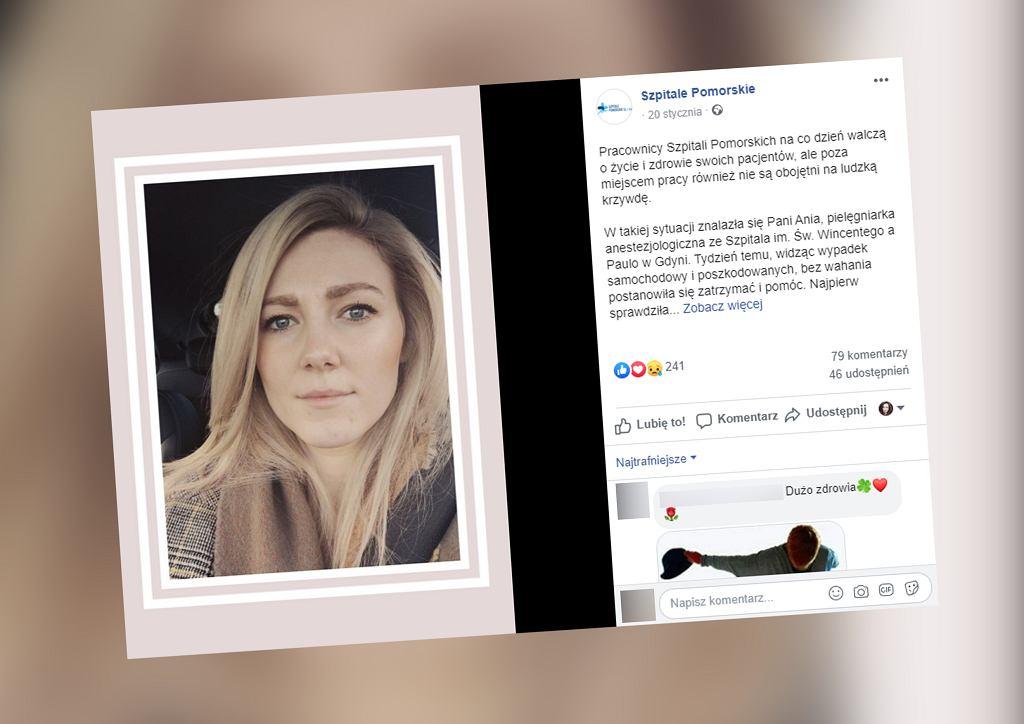Gdynia. Pielęgniarka po dyżurze pomogła poszkodowanym w wypadku. Potrącił ją pijany kierowca