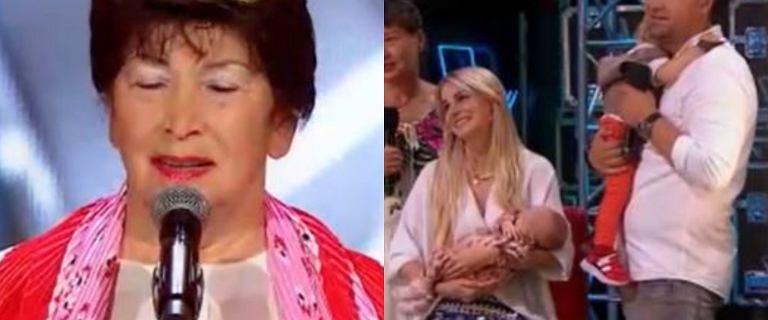 """""""The Voice Senior"""". Na scenie stanęła babcia celebryty konkurencyjnej stacji telewizyjnej"""