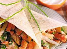 Tortille z pieczoną rybą - ugotuj