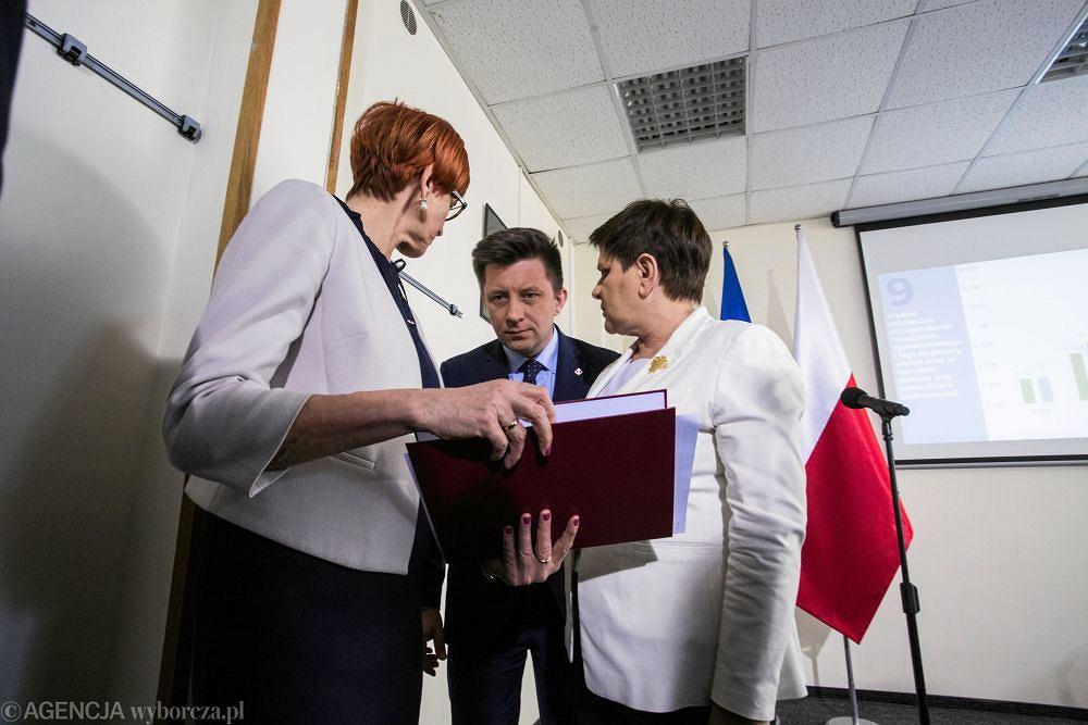 Kolejny dzien negocjacji Rzadu z przedstawicielami Nauczycieli