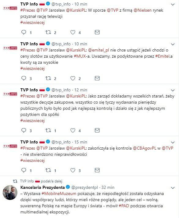 Jarosław Kurski prezesem TVP? Wpadka TVP Info na Twitterze