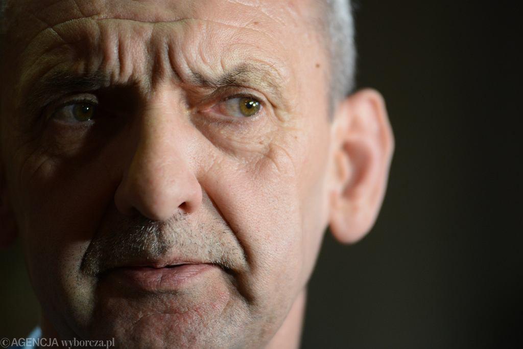 Prezes ZNP Sławomir Broniarz przed negocjacjami z rządem