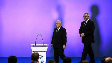 Jarosław Kaczyński i Jacek Sasin