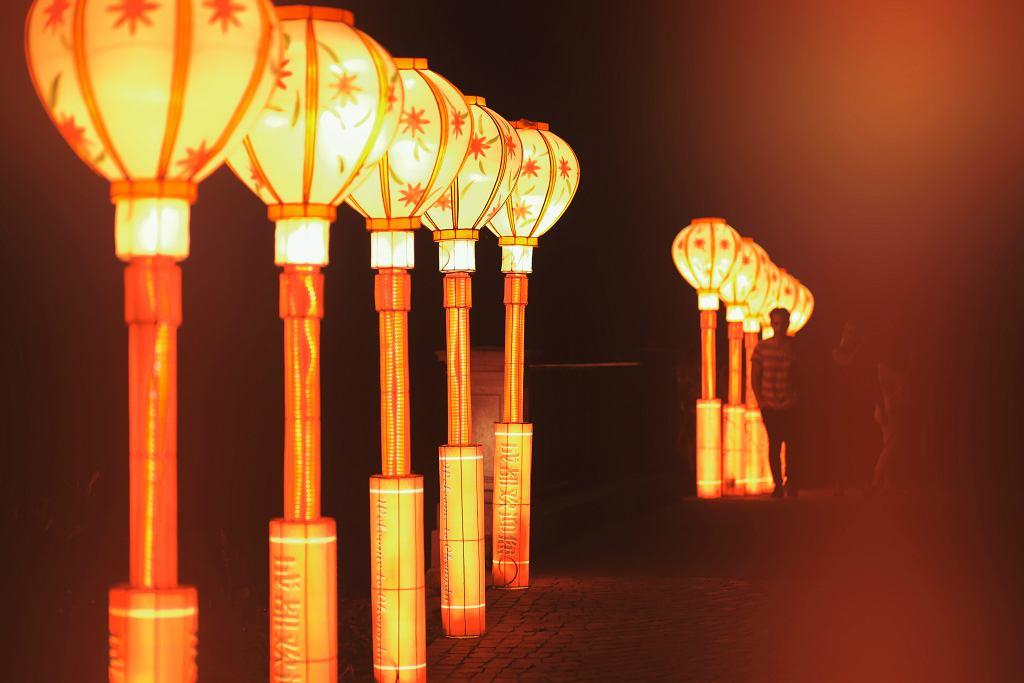 Chiny I Orient W łazienkach Królewskich Festiwal Lampionów