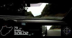 Camaro Z28 na torze Nurburgring