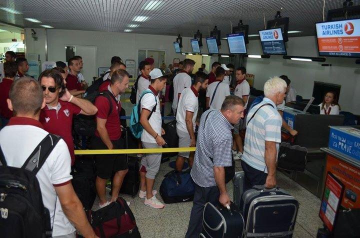 FK Sarajevo w drodze do Poznania