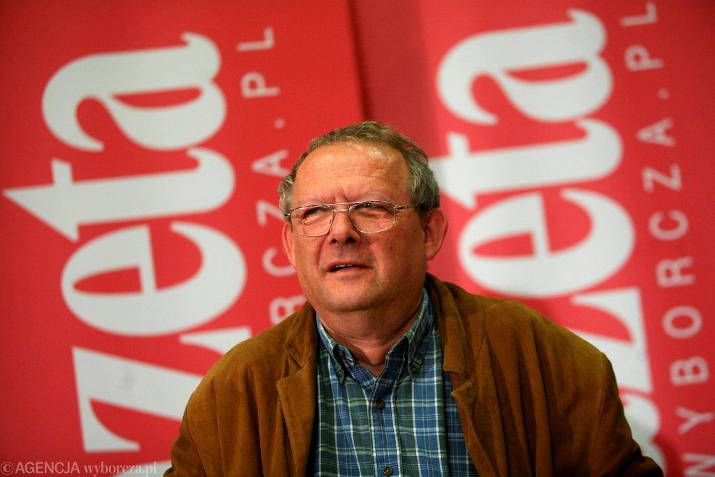 Adam Michnik, redaktor naczelny 'Gazety Wyborczej'