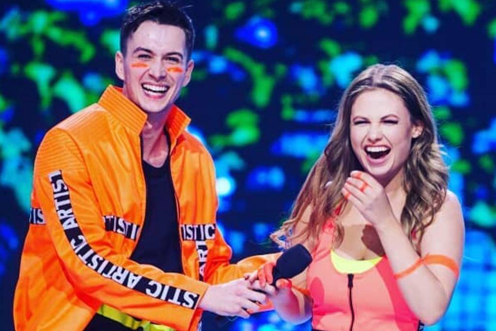 Anna Karczmarczyk i Mateusz Łapka