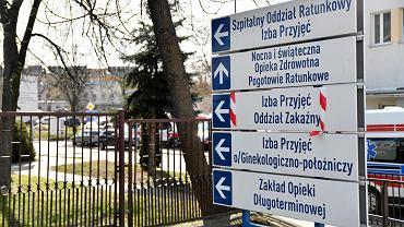 Koronawirus. Radomski Szpital Specjalistyczny. 22 zakażonych pacjentów jest leczonych w szpitalu w Radomiu
