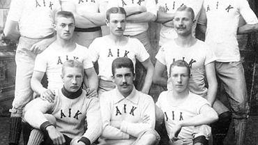 Drużyna AIK z mistrzowskiego sezonu 1900