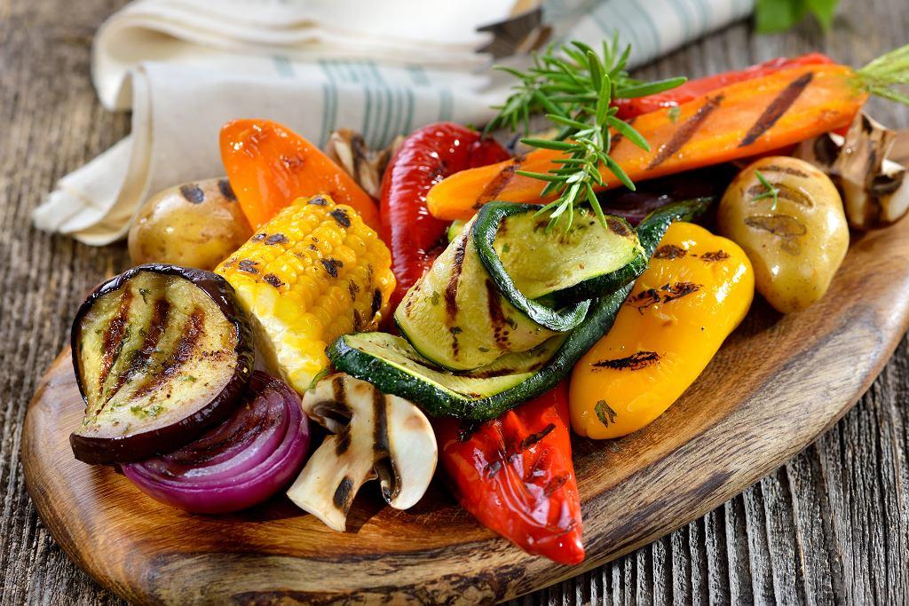 Warzywa z grilla.