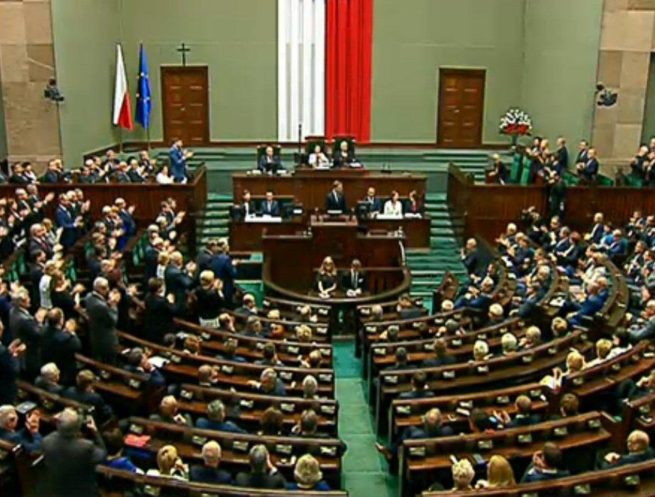 Owacja dla Andrzeja Dudy
