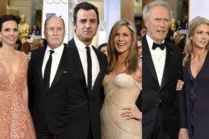 Robert Duvall, Justun Theroux, Jennifer Aniston, Clint Eastwood