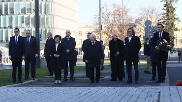 10. rocznica katastrofy smoleńskiej - uroczystości w Warszawie.