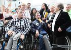 """Kraków odwołuje protest """"solidarni z niepełnosprawnymi"""". Z powodu ulew"""