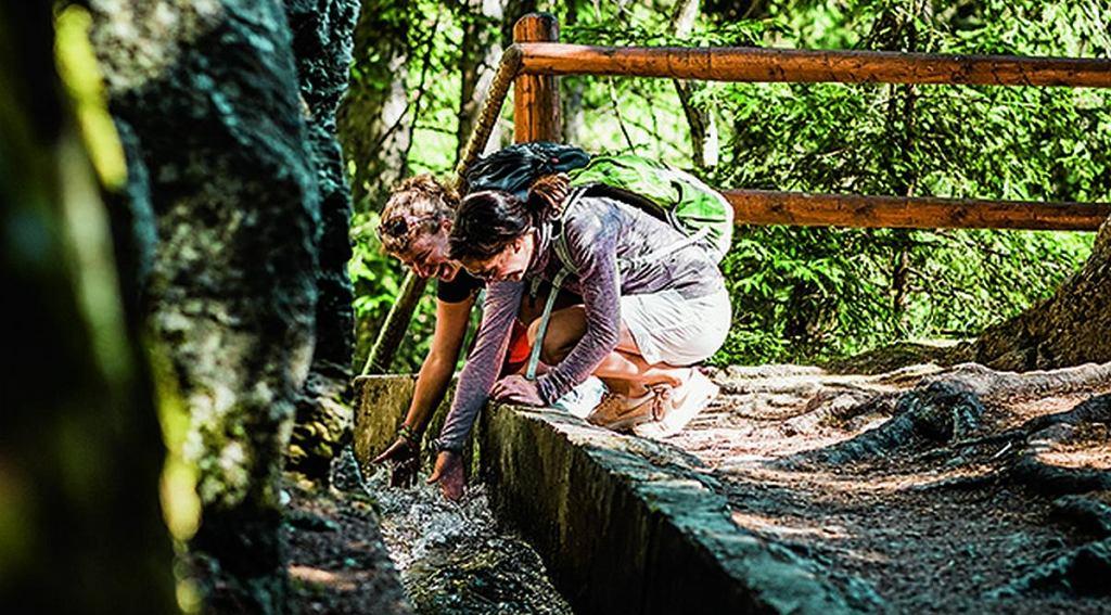 Rolnicy od wieków budowali kanały nawadniające nazywane 'suonen' lub 'bisses'