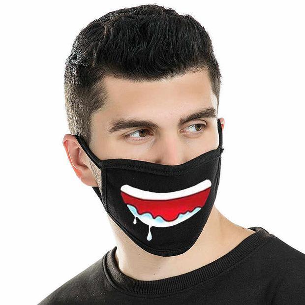 W opisie tej maski jest, że to 'przeciwpyłowa'.