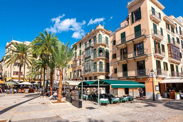 Historyczne centrum Palma de Mallorca