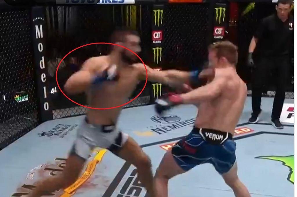 Gamrot nokautuje w UFC