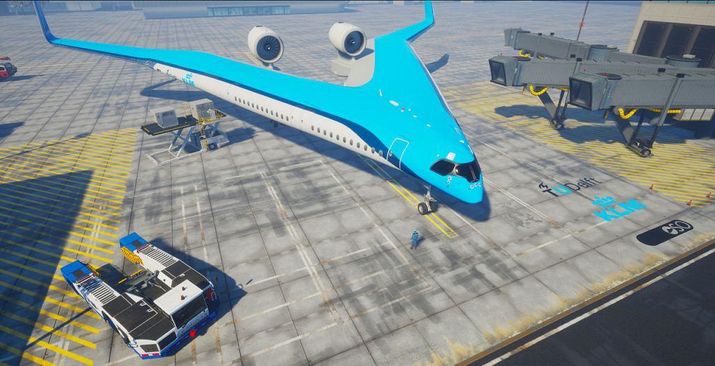 Flying-V - w przyszłości konkurent Airbusa A350