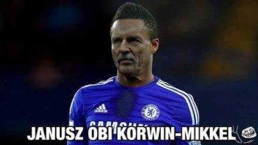 PSG wygrało z Chelsea 2:1, ale aż za dwie bramki odpowiedzialny był Obi Mikel - za jedną dla PSG (po jego faulu był rzut wolny, którego na gola zamienił Zlatan) i jedną dla Chelsea - tuż przed samiutką przerwą. Zwycięstwo paryżanom dał Cavani, a internauci świętują powrót Ligi Mistrzów
