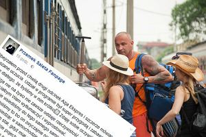Przemysław Saleta o Azja Express