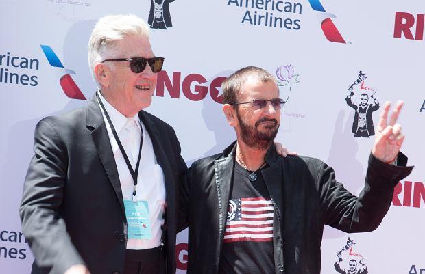 David Lynch i Ringo Starr