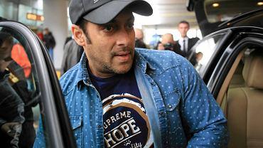 Aktor Salman Khan, bożyszcze Bollywood