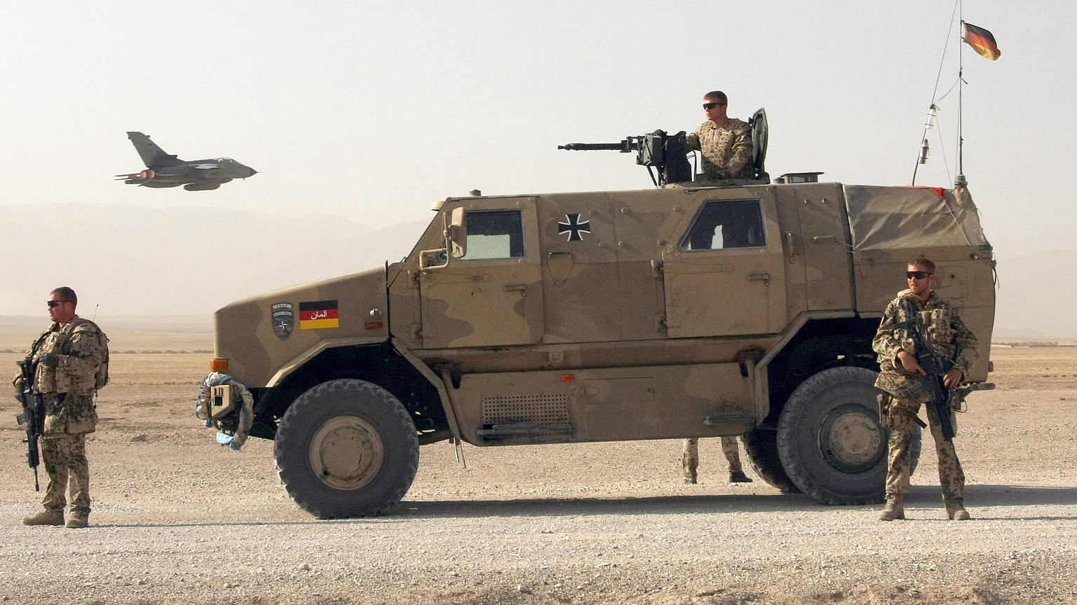 Żołnierze Bundeswehry na misji w Afganistanie