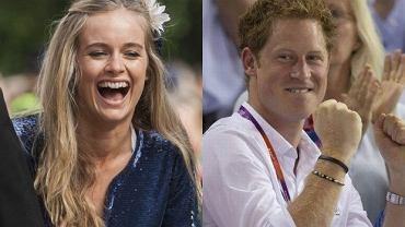 Książę Harry i Cressida Bonas.