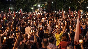 Mieszkańcy Opola już wielokrotnie protestowali pod sądem okręgowym przeciwko deformie sądownictwa.