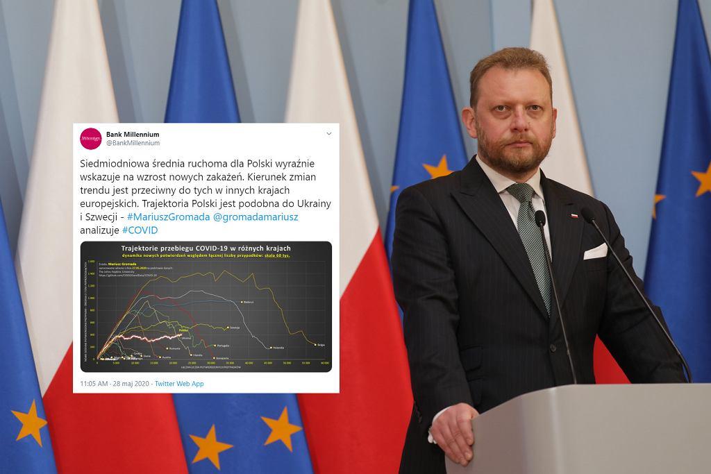 Epidemia koronawirusa w Polsce nie zwalnia